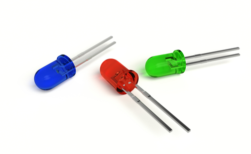 tricolor 3mm RGB LED diode