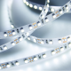 lose-up of LED strip light white light