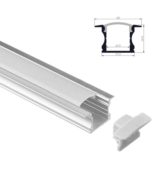 Anodized Extrusion LED Aluminum Channels - Elstar