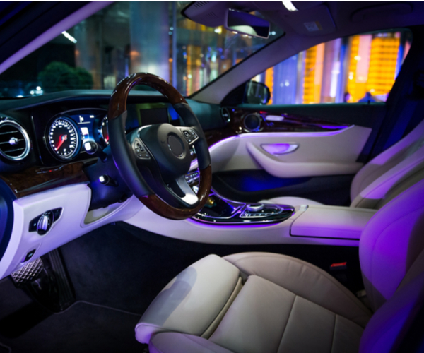 car interior led lighting