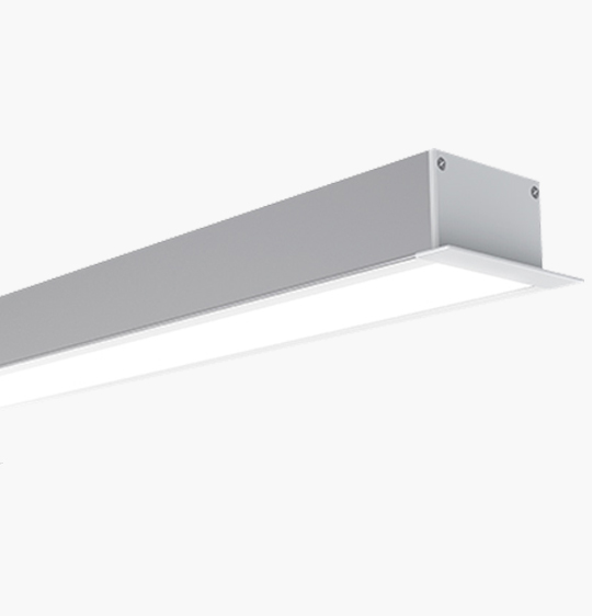 W63*H32mm Recessed Surface Mounted LED Linear Lamp