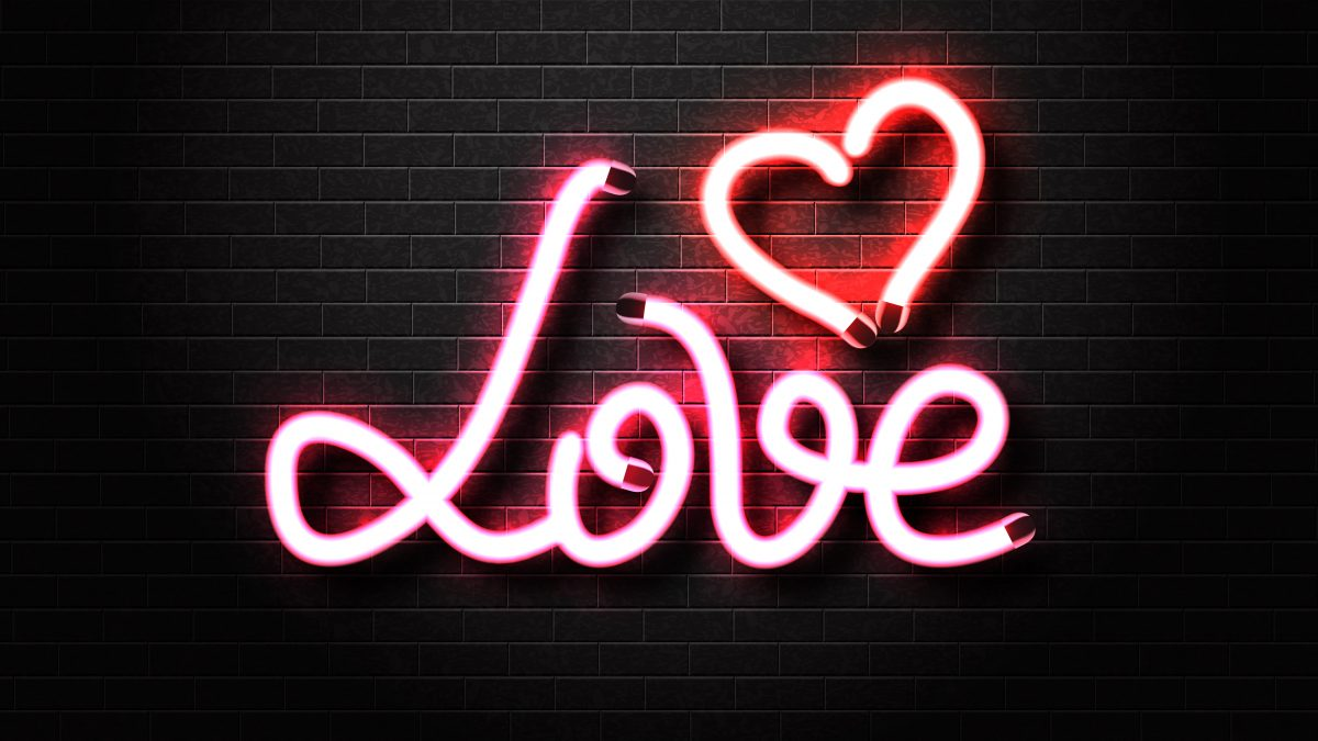 led neon sign for shop